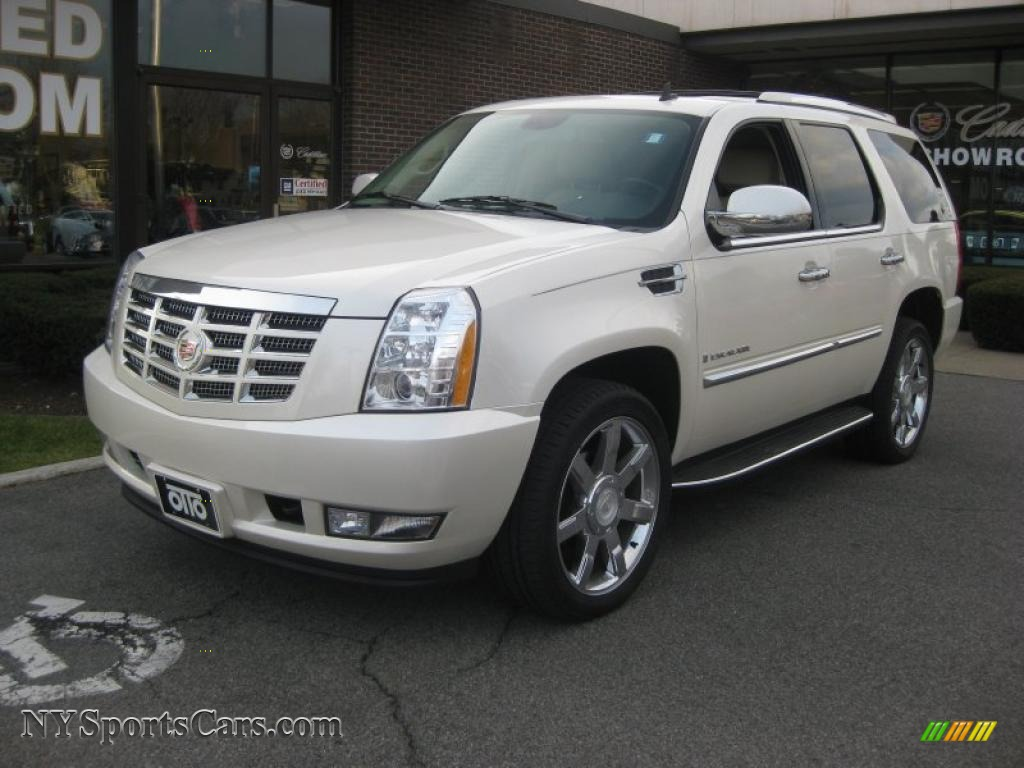 2008 cadillac escalade awd in white diamond 244004 cars for sale in new york. Black Bedroom Furniture Sets. Home Design Ideas