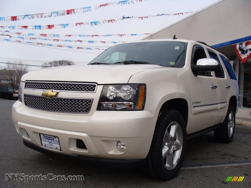 2008 chevrolet tahoe ltz 4x4 in summit white 229636 cars for sale in new york. Black Bedroom Furniture Sets. Home Design Ideas