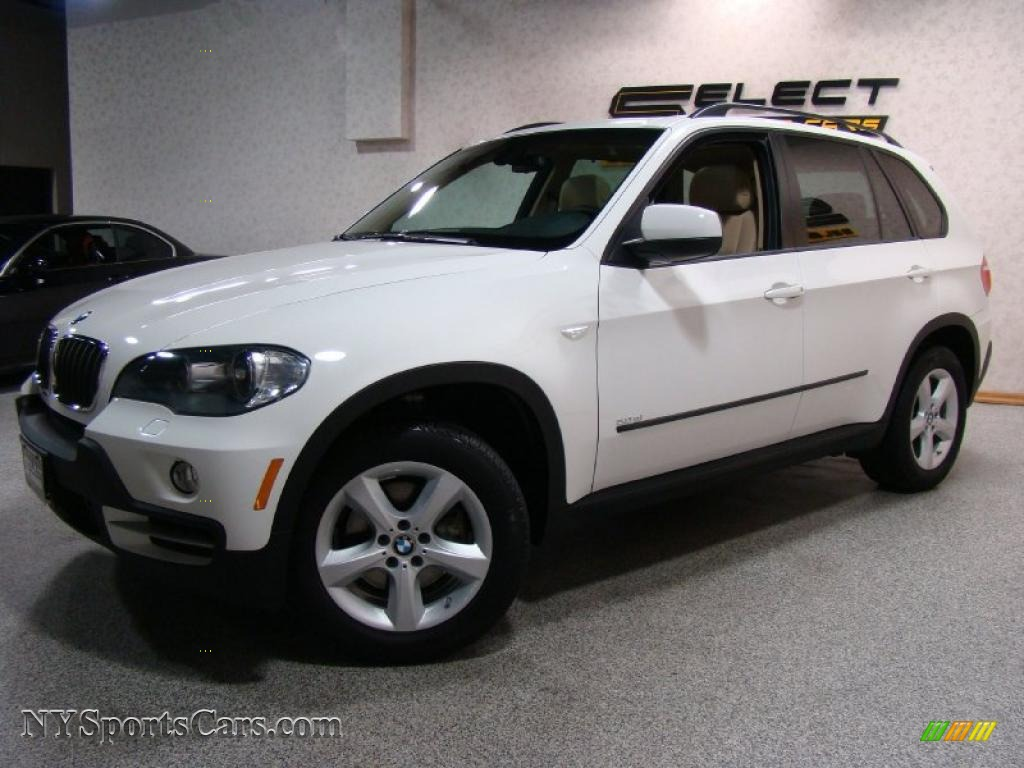 2008 bmw x5 3.0si in alpine white - 002546 | nysportscars