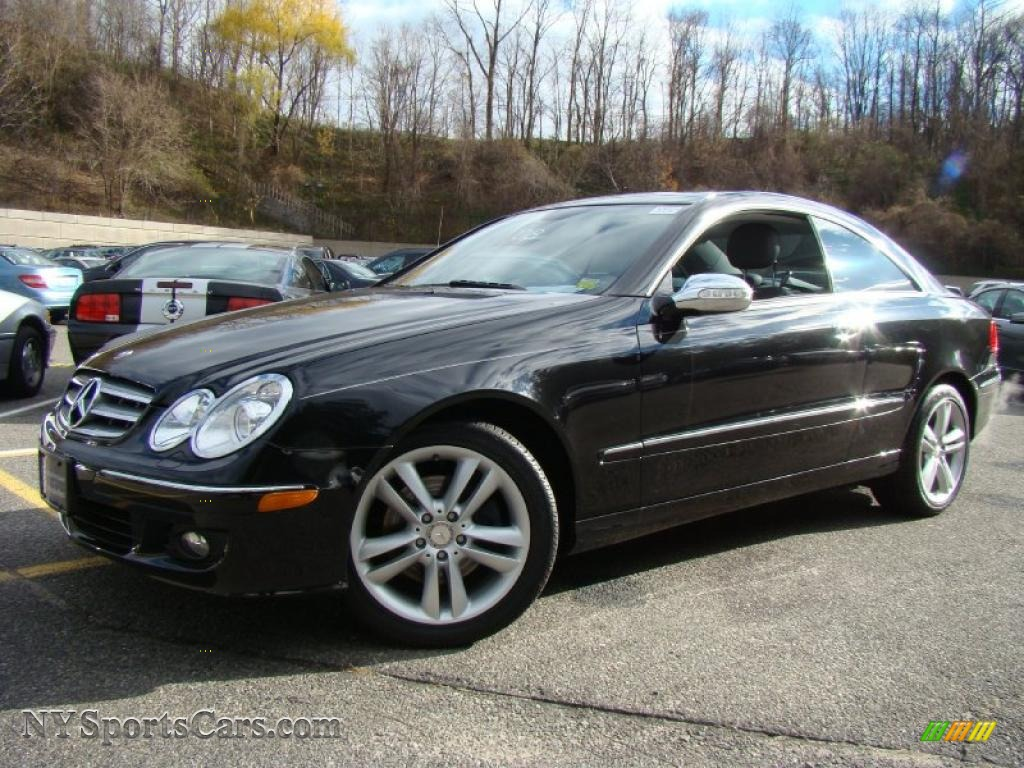 2008 mercedes benz clk 350 coupe in obsidian black for Mercedes benz clk350 for sale