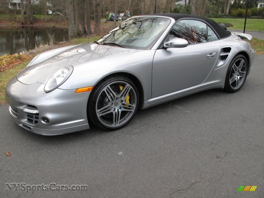 2008 porsche 911 turbo cabriolet in gt silver metallic 789181 cars for. Black Bedroom Furniture Sets. Home Design Ideas