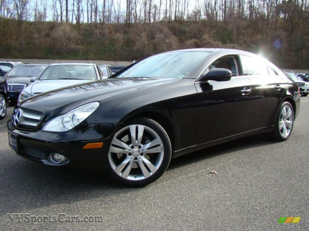 2010 mercedes benz cls 550 in obsidian black metallic. Black Bedroom Furniture Sets. Home Design Ideas