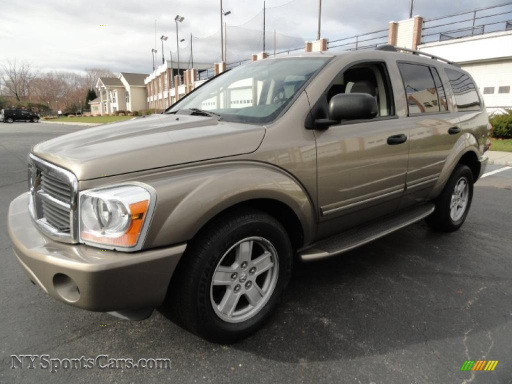 2006 dodge durango limited hemi 4x4 in light khaki. Black Bedroom Furniture Sets. Home Design Ideas