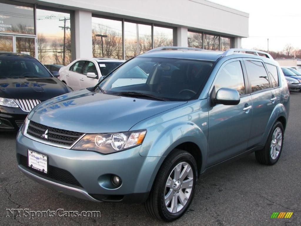 2007 mitsubishi outlander xls 4wd in aqua metallic. Black Bedroom Furniture Sets. Home Design Ideas