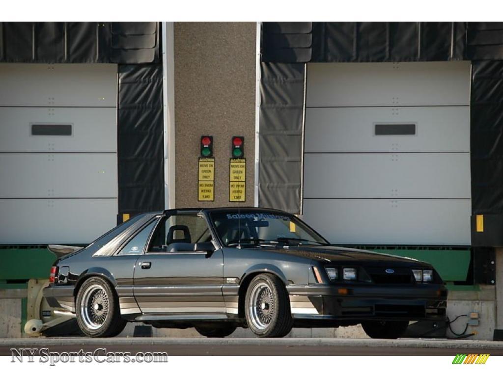 1985 Mustang Saleen Fastback