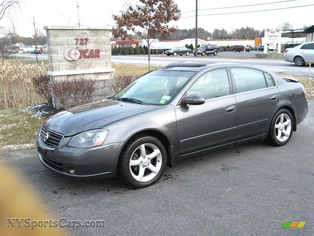 2005 Nissan Altima 3 5 Se In Smoke Metallic 166959