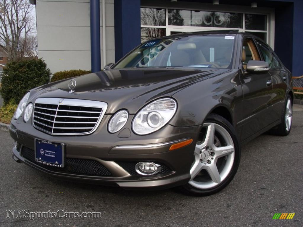 2009 mercedes benz e 350 4matic sedan in indium grey for Mercedes benz e 350 for sale