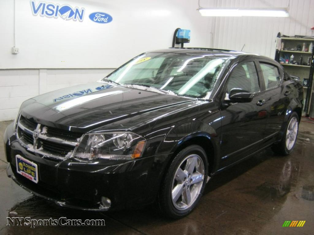 2008 Dodge Avenger R T In Brilliant Black Crystal Pearl 625415 Nysportscars Com Cars For Sale In New York