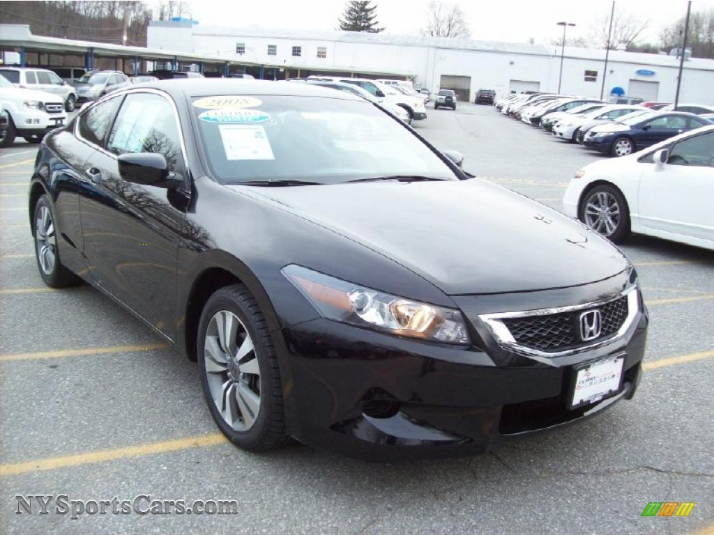 2008 honda accord lx s coupe in nighthawk black pearl 015108 cars for. Black Bedroom Furniture Sets. Home Design Ideas