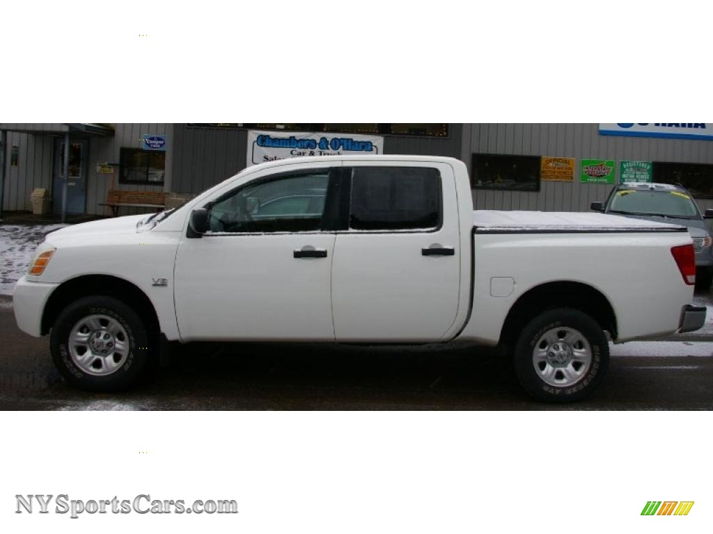 2004 nissan titan xe crew cab 4x4 in white photo 2 532577 2004 titan xe crew cab 4x4 white sandsteel photo 2 vanachro Image collections