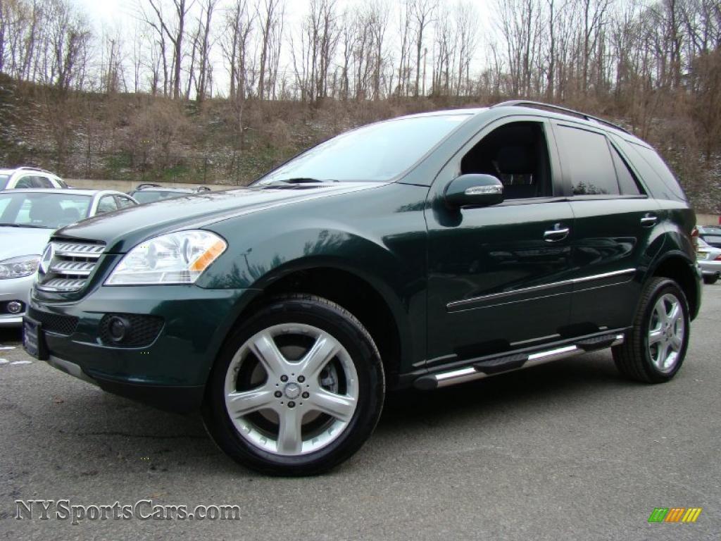 2008 mercedes benz ml 350 4matic in jade green metallic for Mercedes benz green