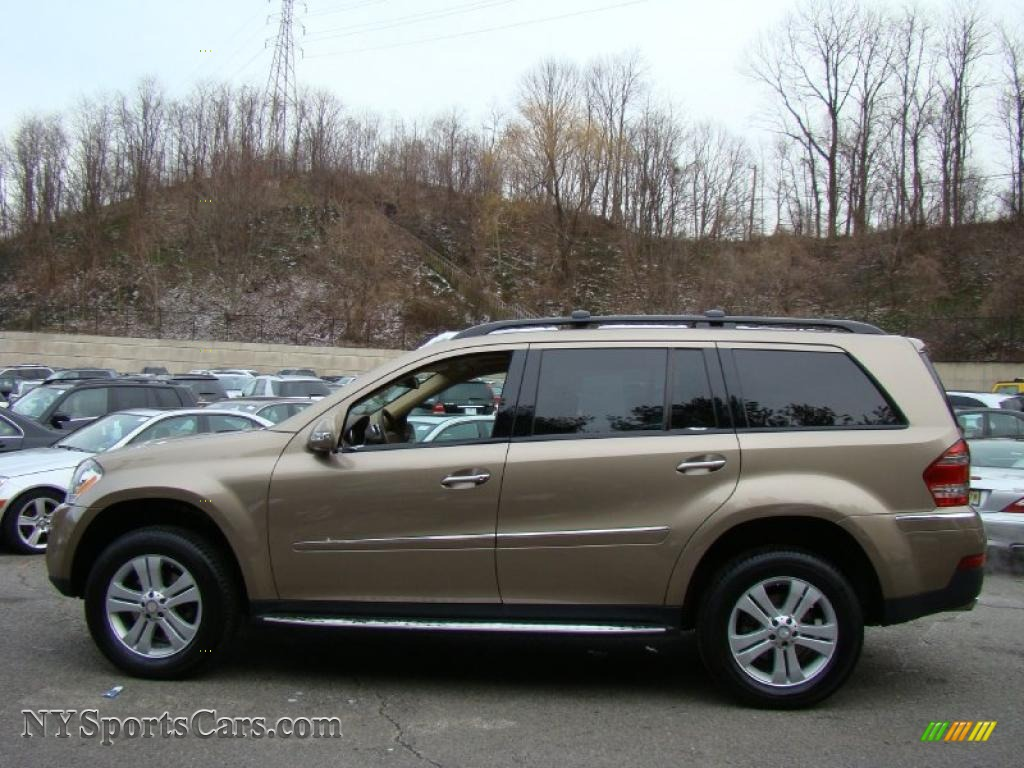 2008 mercedes benz gl 450 4matic in sand beige metallic for Mercedes benz 2008 gl450 for sale