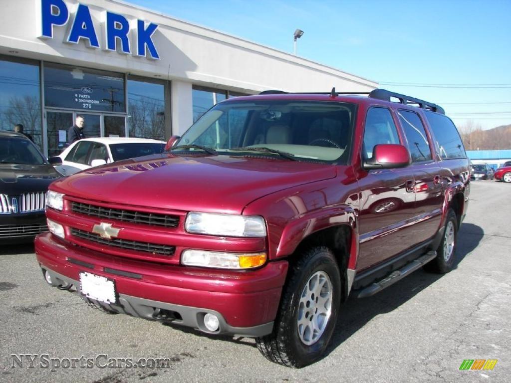 2006 chevrolet suburban z71 1500 4x4 in sport red metallic 122169 cars. Black Bedroom Furniture Sets. Home Design Ideas