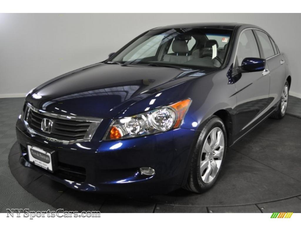 2008 honda accord ex l v6 sedan in royal blue pearl 071311 cars for sale. Black Bedroom Furniture Sets. Home Design Ideas