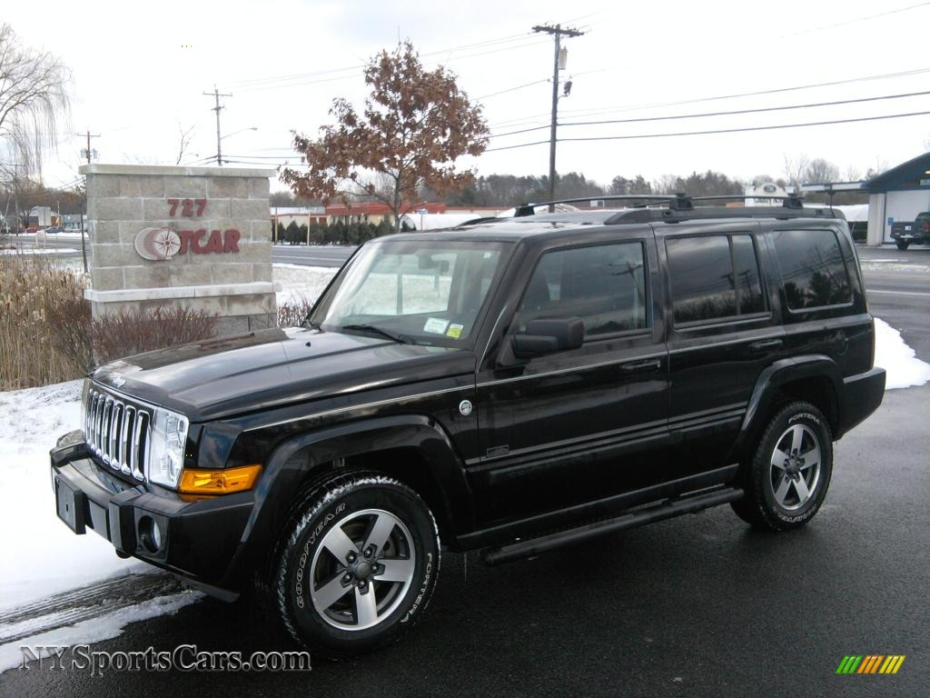 2008 Jeep Commander Sport 4x4 In Brilliant Black Crystal