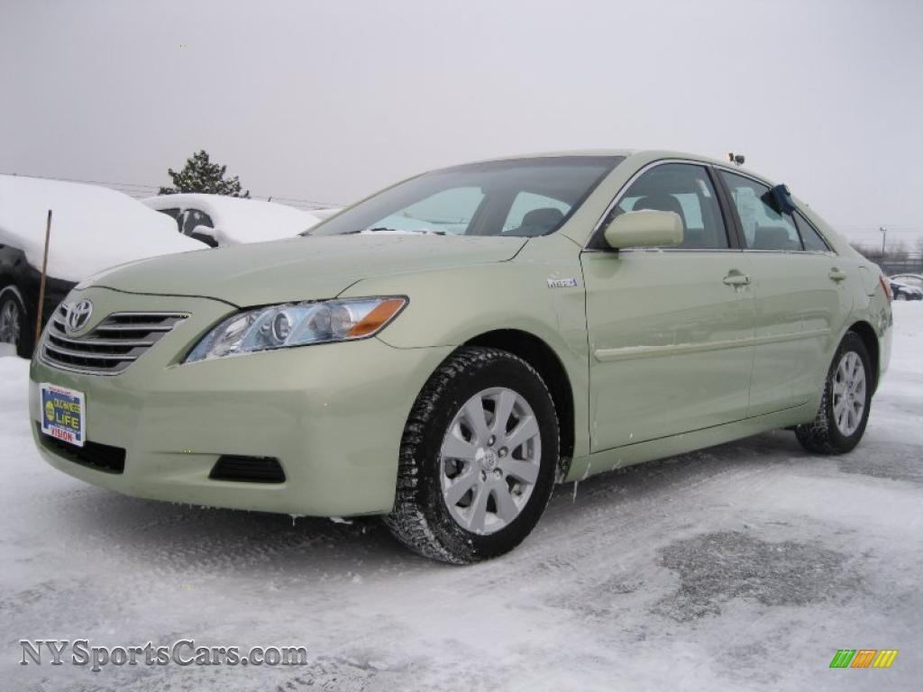 2008 Toyota Camry Hybrid In Jasper Green Pearl 038681