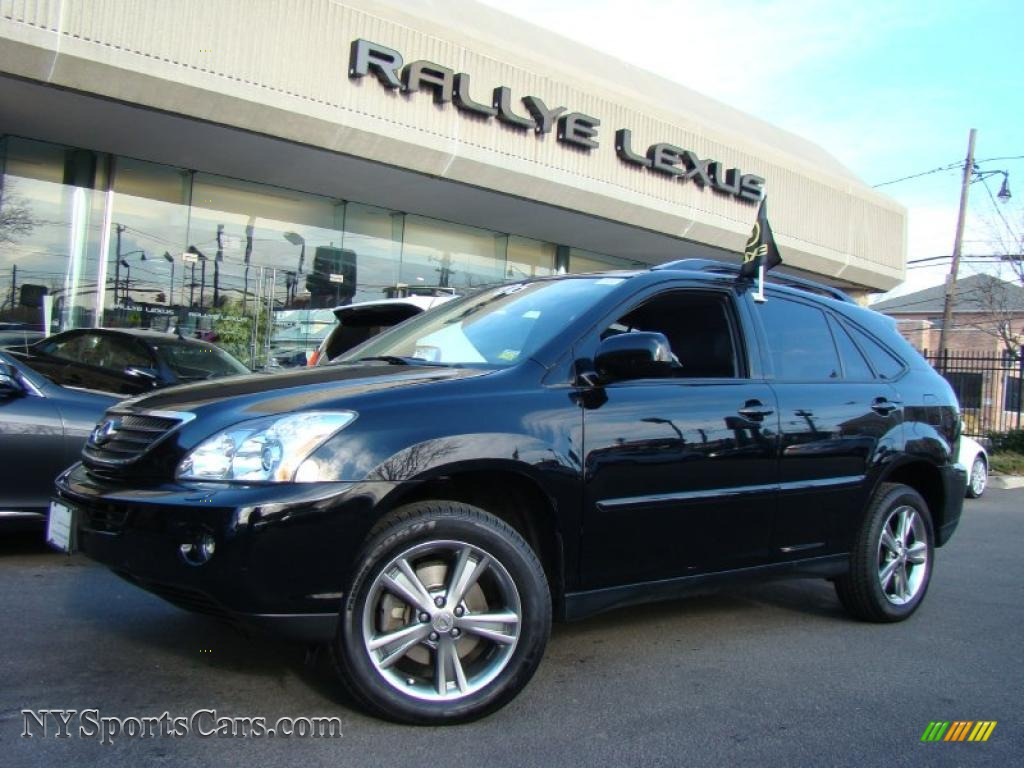 Black Onyx Lexus Rx 400h Awd Hybrid
