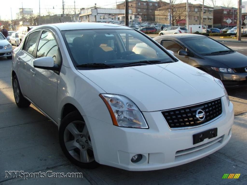 2008 nissan sentra 2 0 in fresh powder white 702970. Black Bedroom Furniture Sets. Home Design Ideas