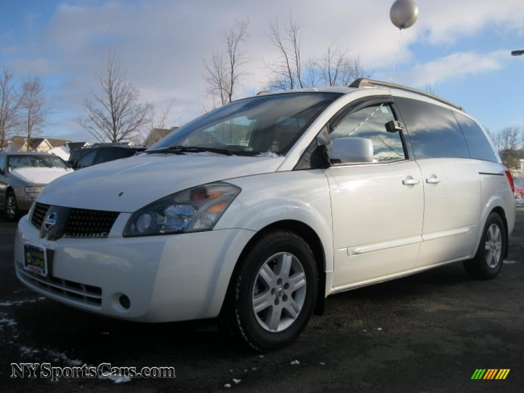 2005 nissan quest 3 5 sl in nordic white pearl 119630. Black Bedroom Furniture Sets. Home Design Ideas