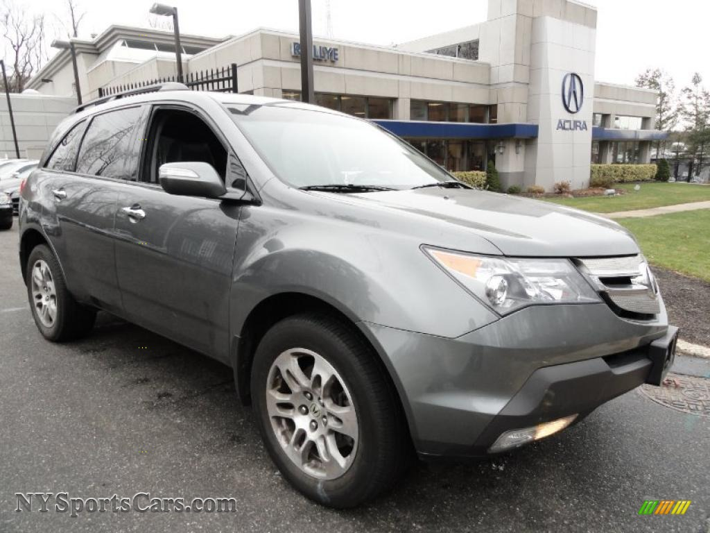 2008 Acura MDX in Sterling Gray Metallic - 523381 ...