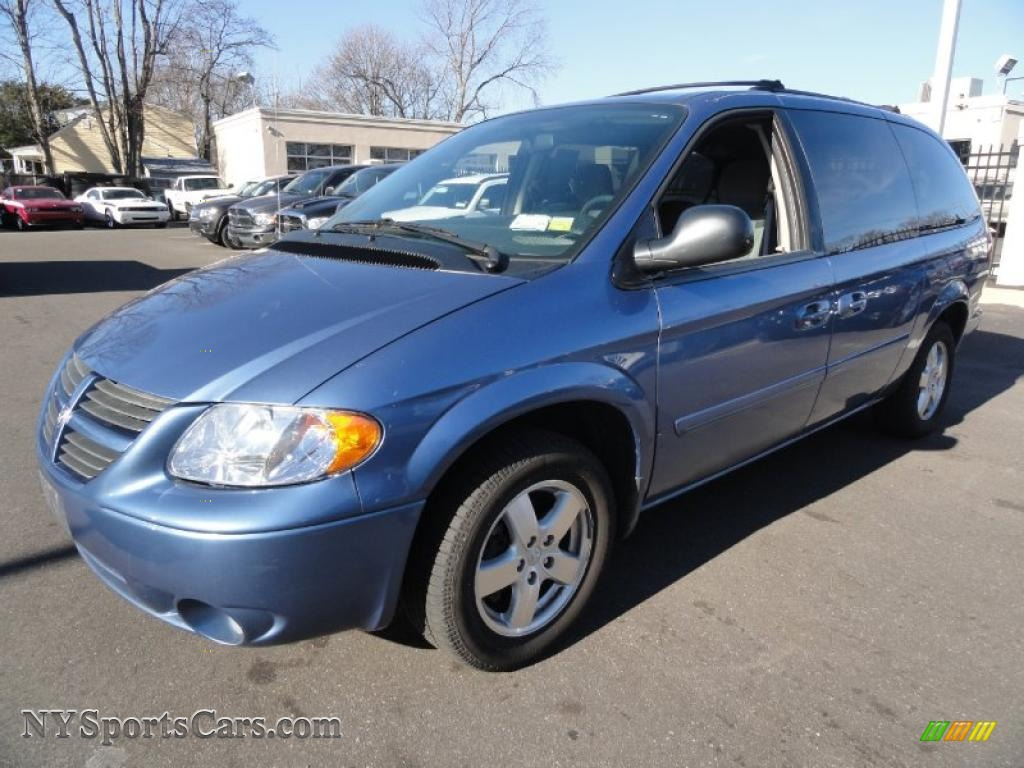 2007 dodge grand caravan sxt in marine blue pearl 198279. Black Bedroom Furniture Sets. Home Design Ideas