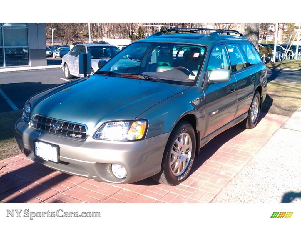 2003 subaru outback ll bean edition wagon in seamist green pearl 2003 outback ll bean edition wagon seamist green pearl beige photo 1 vanachro Image collections