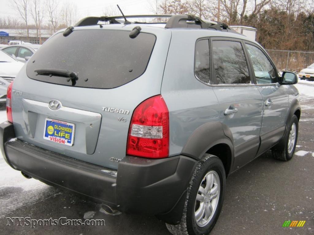 Vision Hyundai Henrietta >> 2007 Hyundai Tucson SE 4WD in Alpine Frost Blue Metallic ...