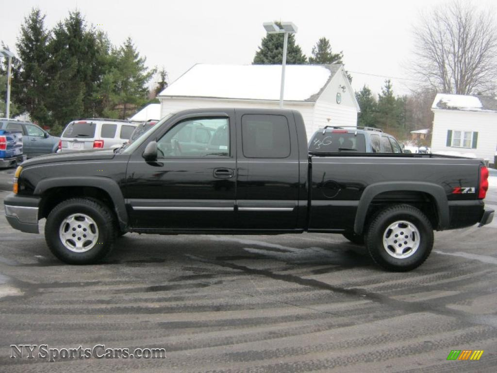2004 chevrolet silverado 1500 z71 extended cab 4x4 in black photo 12 253286 nysportscars. Black Bedroom Furniture Sets. Home Design Ideas