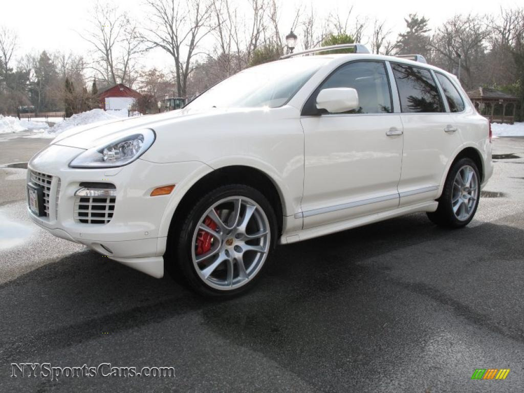 2009 porsche cayenne turbo s in sand white a82391 cars for sale in new york. Black Bedroom Furniture Sets. Home Design Ideas