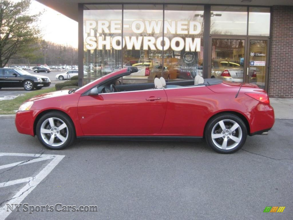 2007 Pontiac G6 Gt Convertible In Crimson Red Photo 2