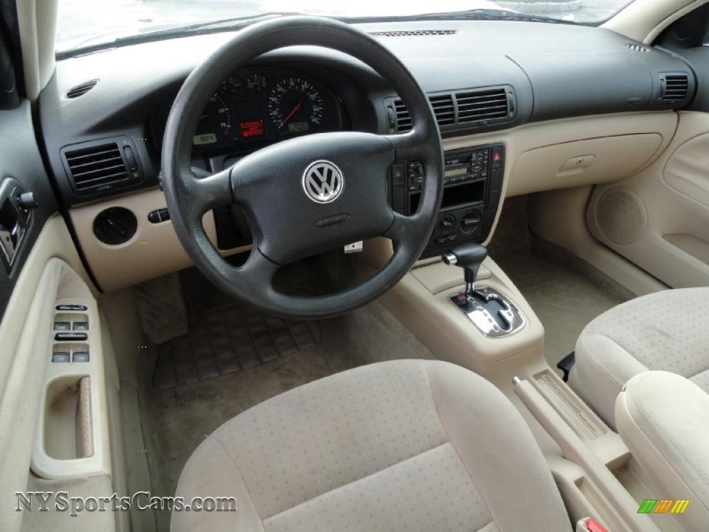 2001 Volkswagen Passat Gls Sedan In Pine Green Metallic Photo 12 011353