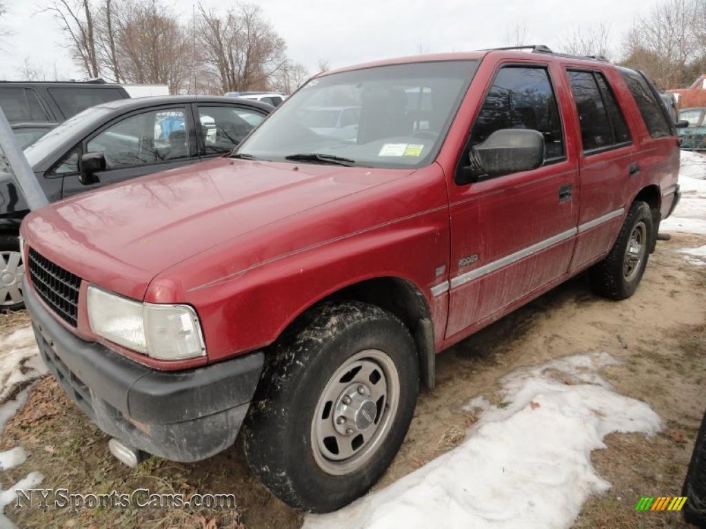 1997 Isuzu Rodeo S 4x4 In Claret Red Pearl 334439