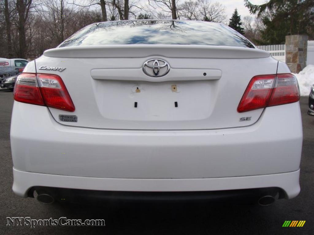 2008 toyota camry se v6 in super white photo 5 565895 cars for sale in. Black Bedroom Furniture Sets. Home Design Ideas