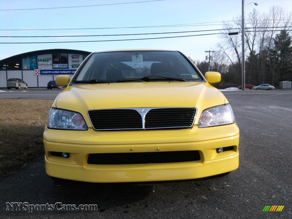 2003 Mitsubishi Lancer Oz Rally In Lightning Yellow Photo