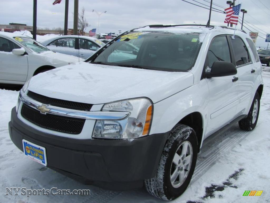 2005 chevrolet equinox ls awd in summit white - 018094