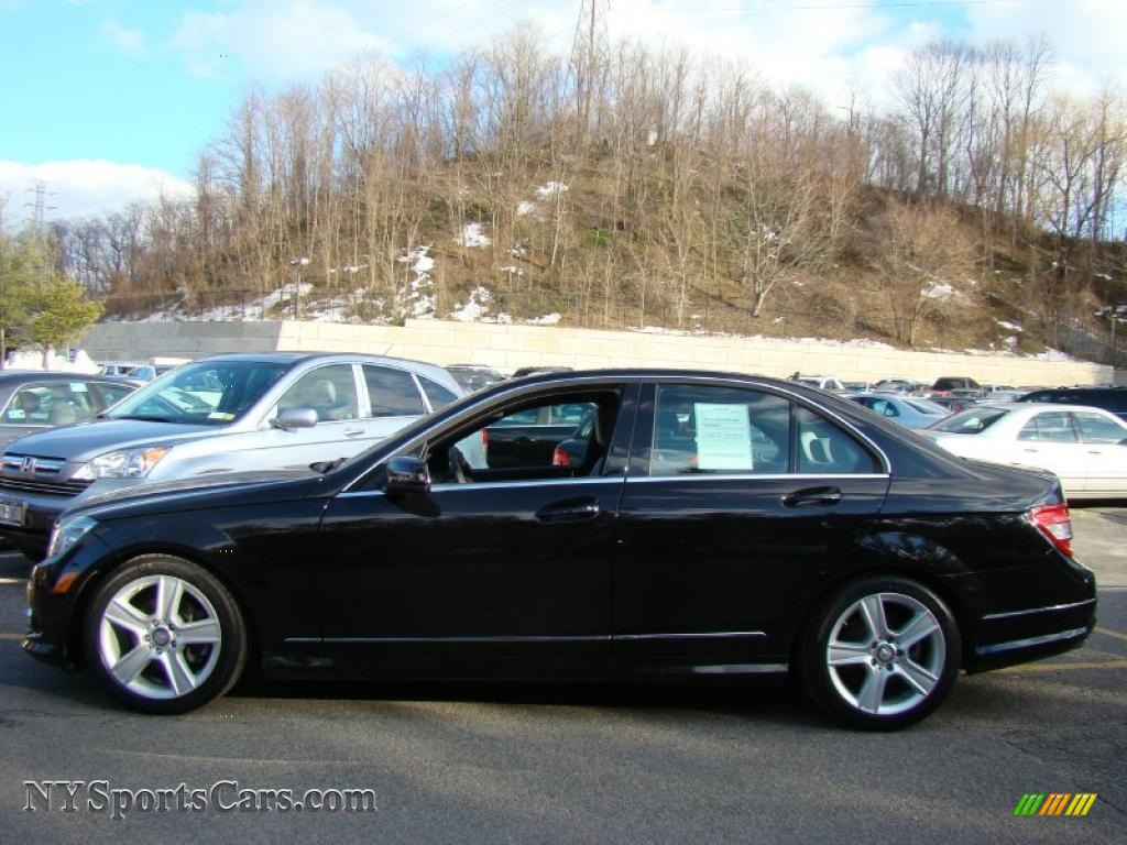 2010 mercedes benz c 300 sport 4matic in obsidian black for Mercedes benz northern blvd