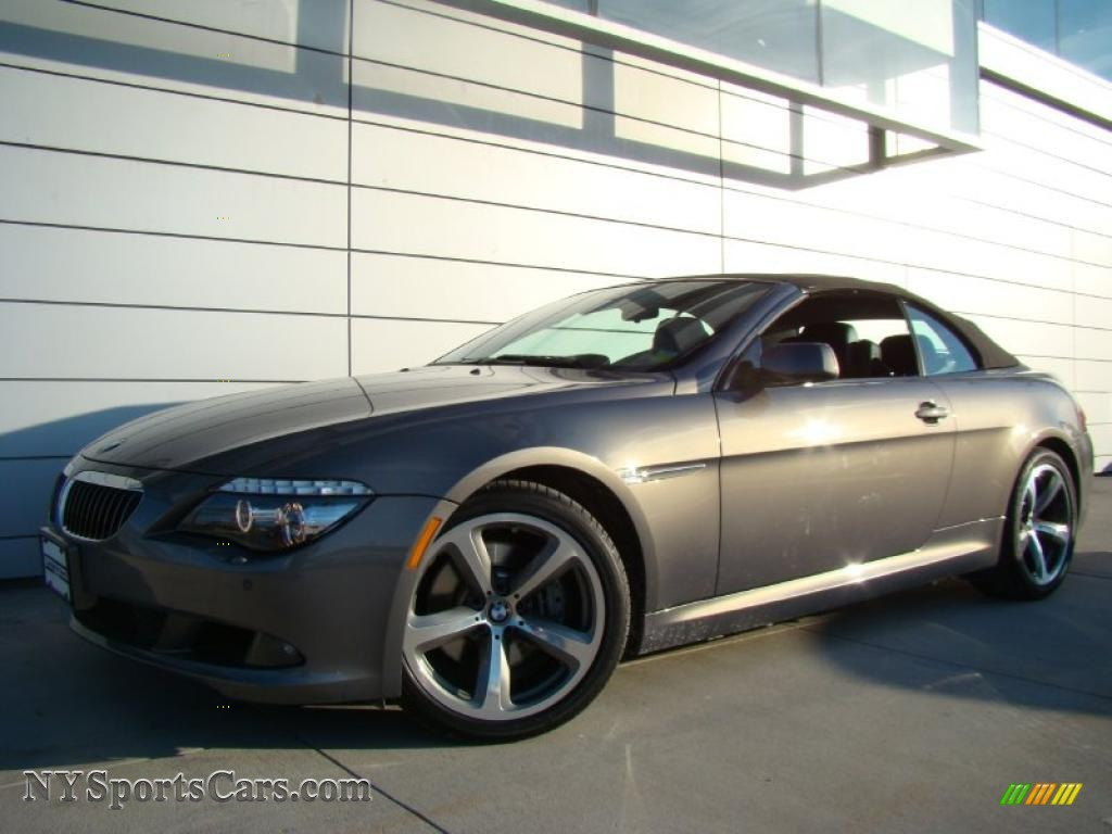 2008 Bmw 6 Series 650i Convertible In Stratus Grey