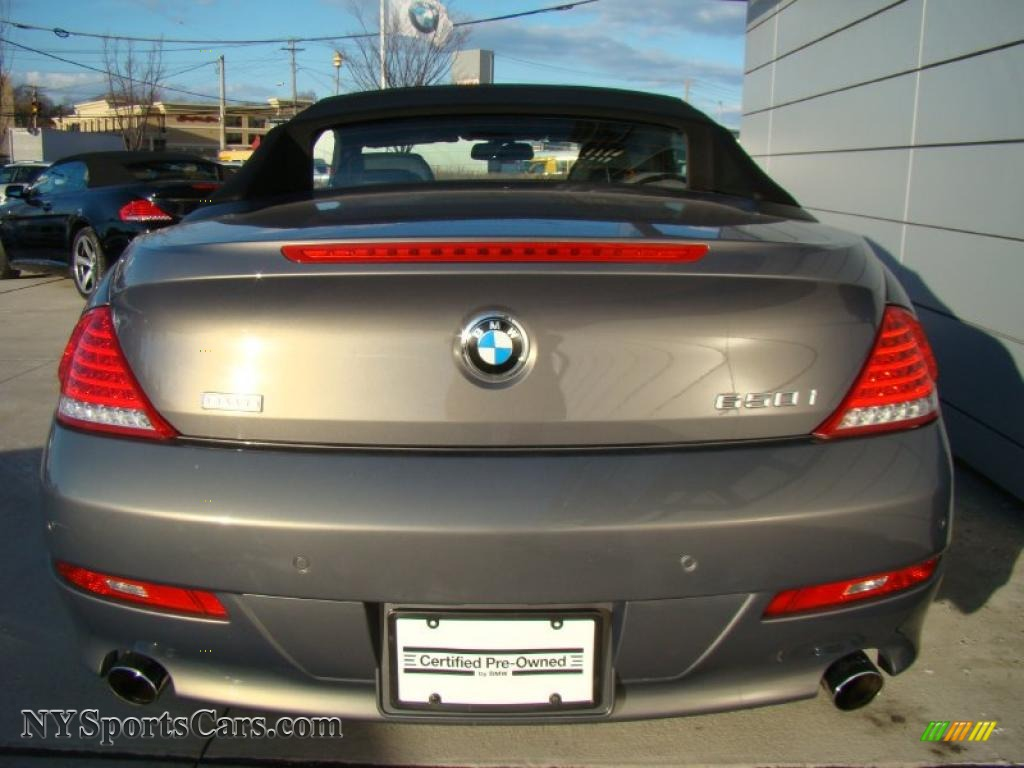 2008 bmw 6 series 650i convertible in stratus grey metallic photo 5 x61462. Black Bedroom Furniture Sets. Home Design Ideas
