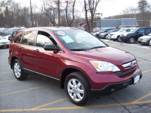 Tango Red Pearl 2009 Honda CR-V EX 4WD. Tango Red Pearl