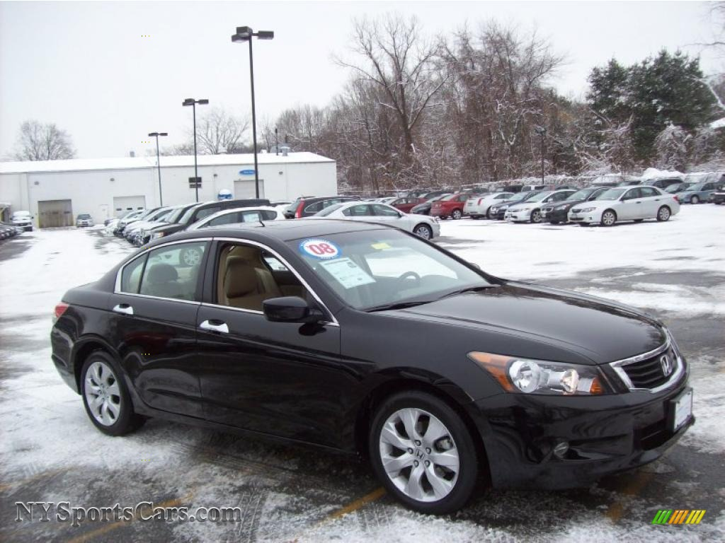 2008 Honda Accord Ex L V6 >> 2008 Honda Accord Ex L V6 Sedan In Nighthawk Black Pearl