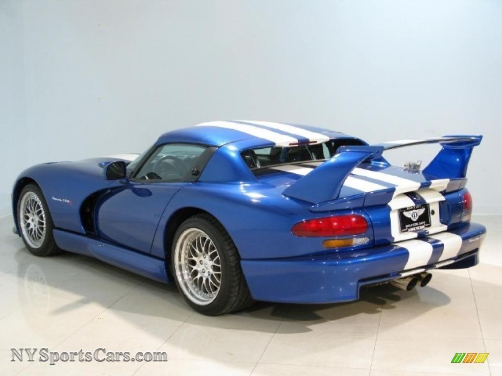 1997 Dodge Viper Hennessey Venom 650r In Gts Blue Pearl
