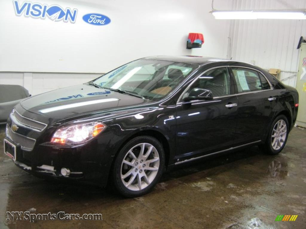 2008 chevrolet malibu ltz sedan in black granite metallic 292553 cars for. Black Bedroom Furniture Sets. Home Design Ideas
