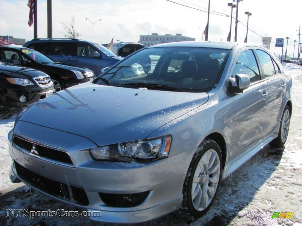2010 mitsubishi lancer sportback gts in apex silver metallic 013574 cars. Black Bedroom Furniture Sets. Home Design Ideas