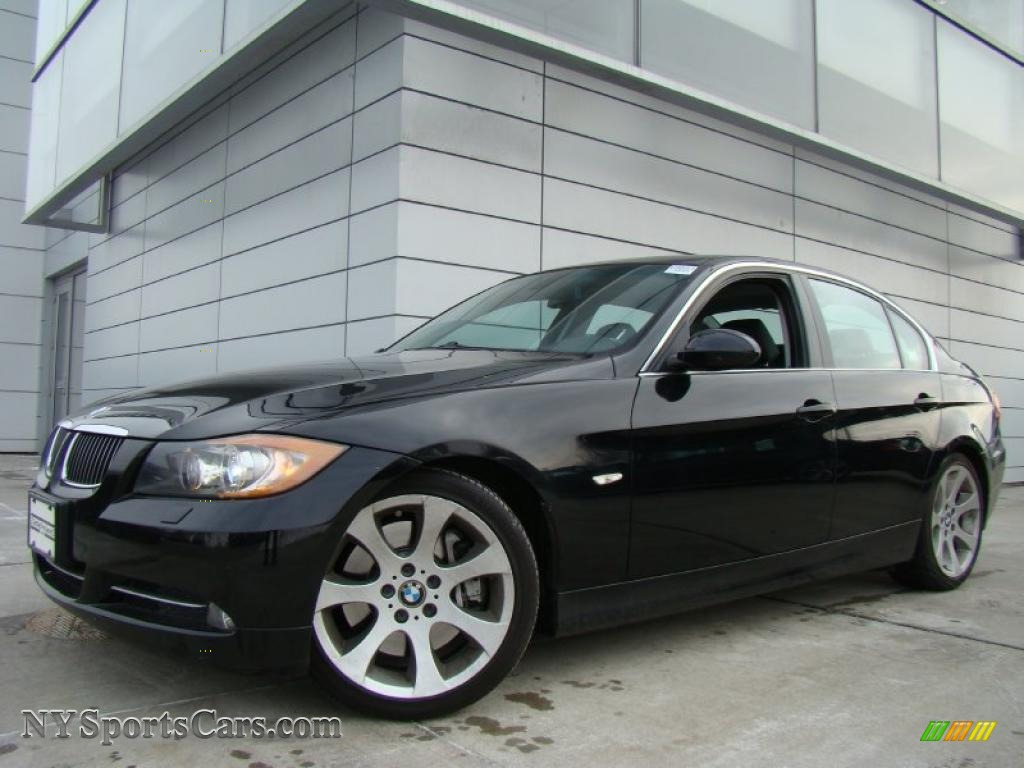 2007 bmw 3 series 335i sedan in jet black f53080. Black Bedroom Furniture Sets. Home Design Ideas