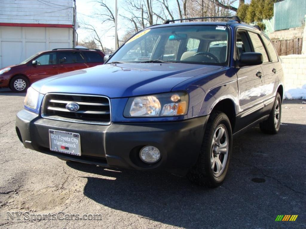 2004 subaru forester 2 5 x in pacifica blue pearl photo 4 727038 cars. Black Bedroom Furniture Sets. Home Design Ideas