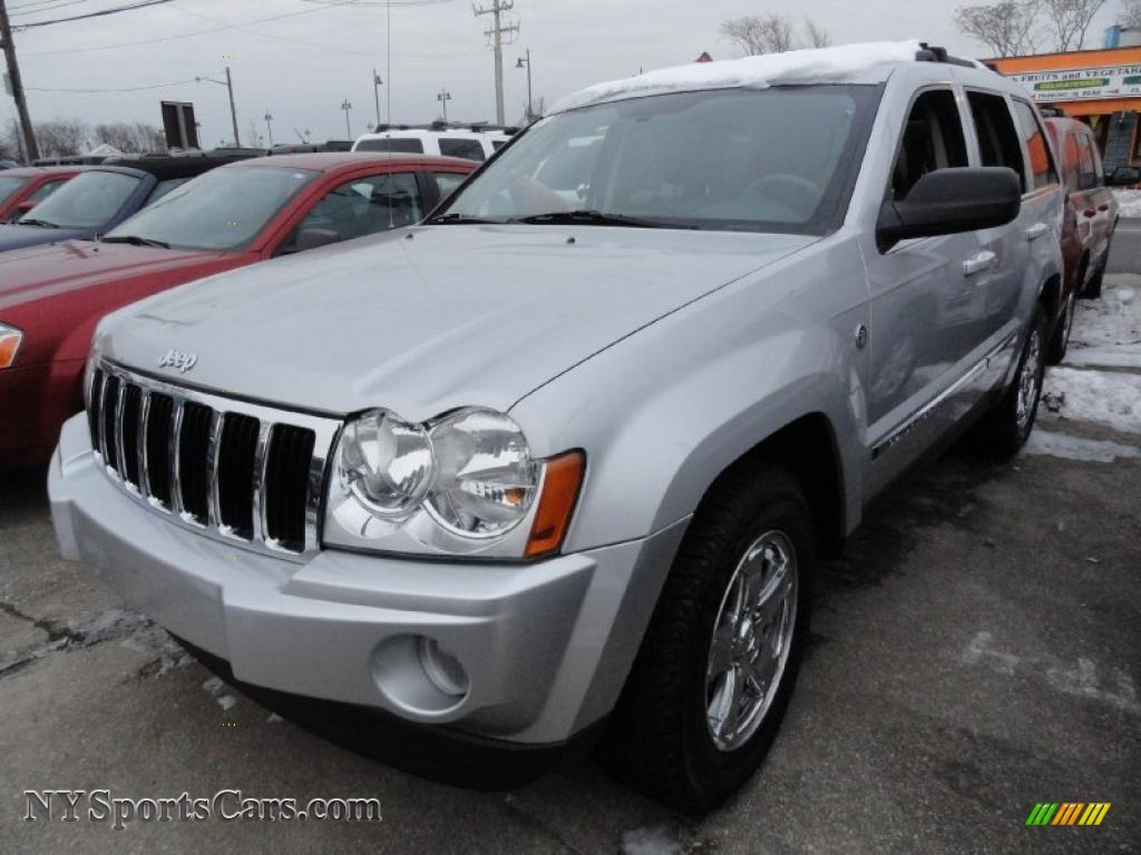 2006 jeep grand cherokee limited 4x4 in bright silver metallic 130851. Black Bedroom Furniture Sets. Home Design Ideas
