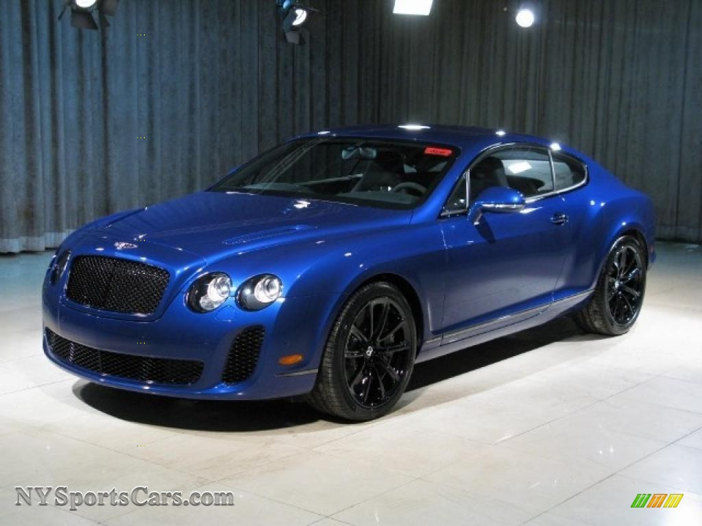 2010 bentley continental gt supersports in moroccan blue 065312 cars for. Black Bedroom Furniture Sets. Home Design Ideas