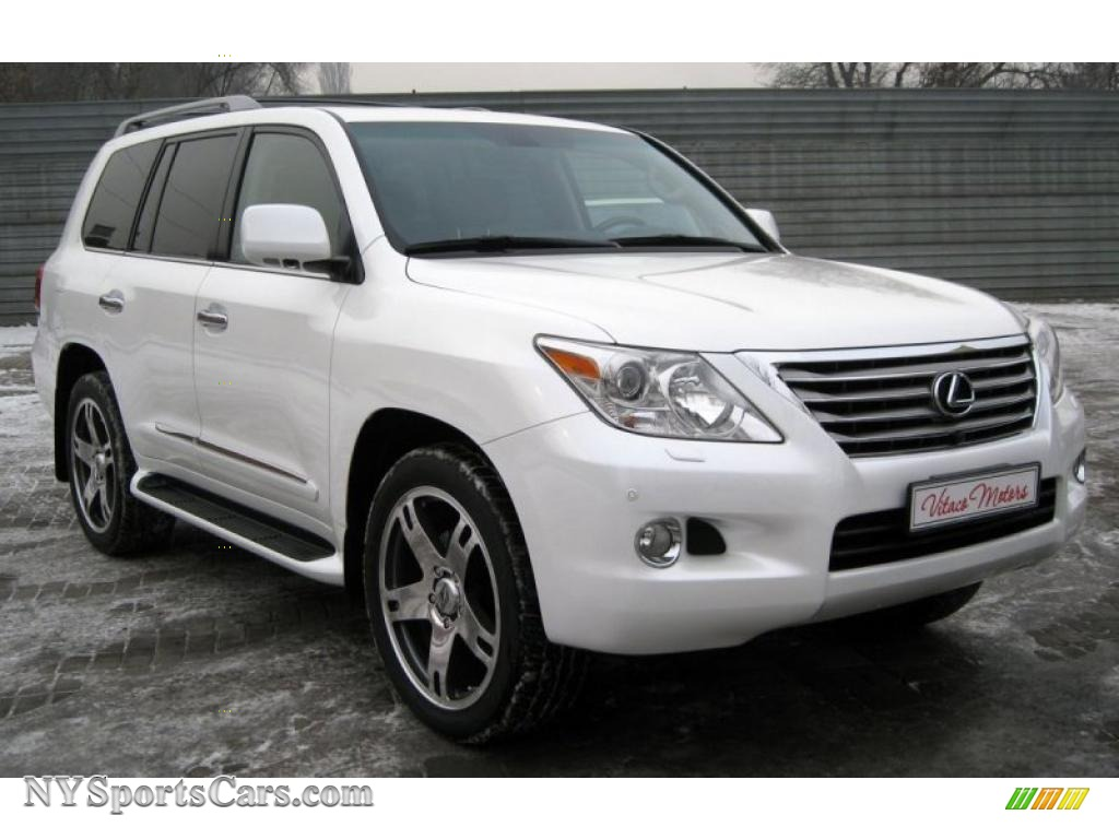 2009 lexus lx 570 in starfire white pearl 777101. Black Bedroom Furniture Sets. Home Design Ideas