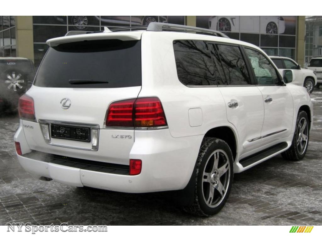 2009 lexus lx 570 in starfire white pearl photo 3. Black Bedroom Furniture Sets. Home Design Ideas