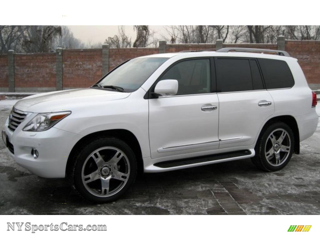 2009 lexus lx 570 in starfire white pearl photo 5. Black Bedroom Furniture Sets. Home Design Ideas